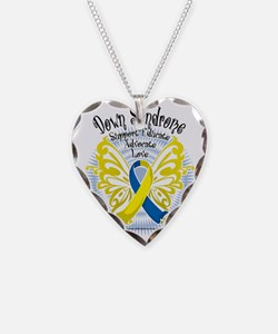 Down-Syndrome-Butterfly-3 Necklace