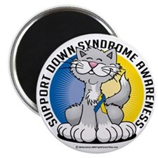 Paws-for--Down-Syndrome-Cat Magnet