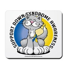 Paws-for--Down-Syndrome-Cat Mousepad