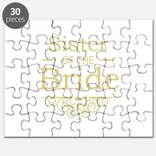 Sister of the Bride Gold Puzzle