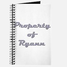 Property Of Ryann Female Journal