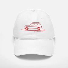 Renault_R4_red Baseball Baseball Cap