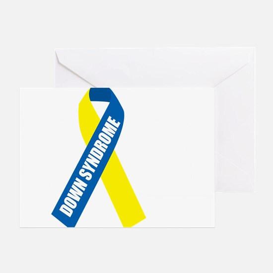 Down-Syndrome-Hope-blk Greeting Card