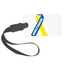 Down-Syndrome-Hope-blk Luggage Tag