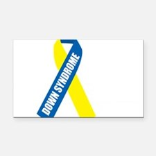 Down-Syndrome-Hope-blk Rectangle Car Magnet