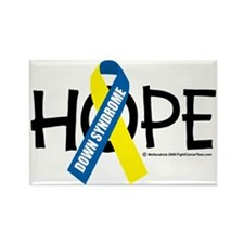 Down-Syndrome-Hope Rectangle Magnet