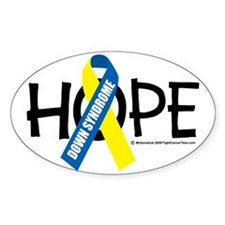 Down-Syndrome-Hope Decal