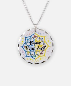 Down-Syndrome-Lotus-2009 Necklace