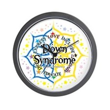 Down-Syndrome-Lotus-2009 Wall Clock