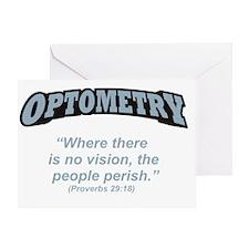 Optometry_Perish_RK2010_21x14 Greeting Card