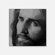 "jesus1 Square Sticker 3"" x 3"""