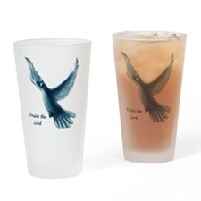 2-dove Drinking Glass