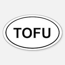 Tofu Sticker (White Oval)