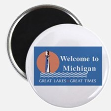 Welcome to Michigan - USA Magnet