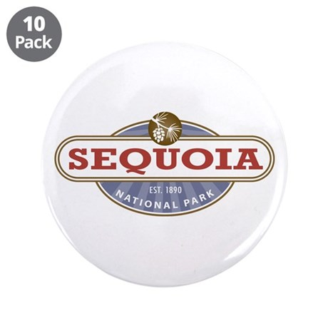 """Sequoia National Park 3.5"""" Button (10 pack)"""