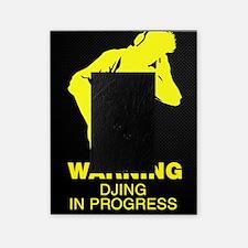 Warning DJing in Progress Picture Frame