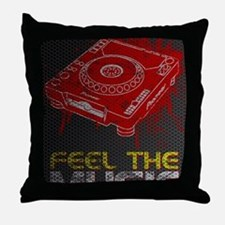 poster 9 small Throw Pillow