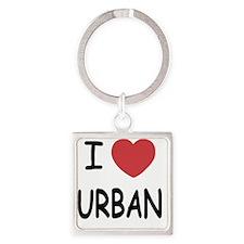 URBAN Square Keychain