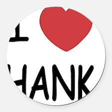 HANK Round Car Magnet