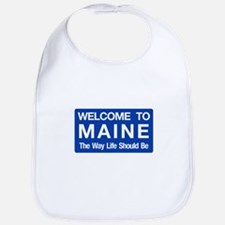 Welcome to Maine - USA Bib