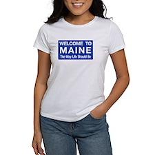 Welcome to Maine - USA Tee