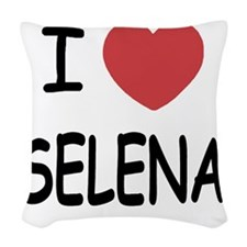 SELENA Woven Throw Pillow