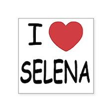 """SELENA Square Sticker 3"""" x 3"""""""