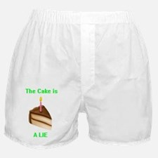 The Cake is a Lie Boxer Shorts