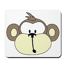 MonkeyFace-600-7inch Mousepad