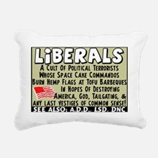 liberalsfinal4 copy Rectangular Canvas Pillow