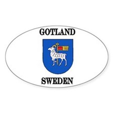 The Gotland Store Oval Decal