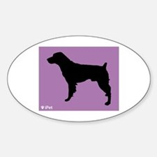 Brittany iPet Oval Decal