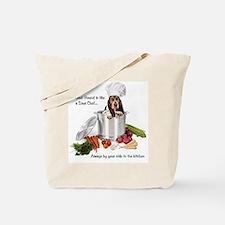 Basset Hound Sous Chef Tote Bag