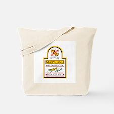 Welcome to Maryland - USA Tote Bag