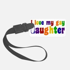 gaydaughter Luggage Tag