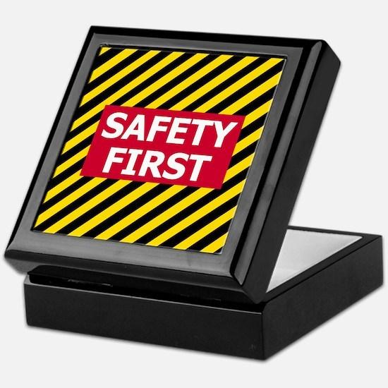 Safety First<BR> Keepsake Box