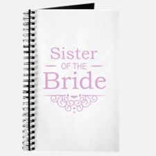 Sister of the Bride pink Journal