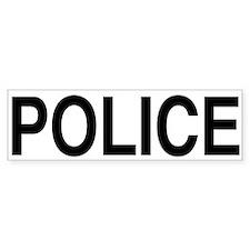POLICE Bumper Bumper Sticker