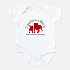 F & B Red Logo Infant Bodysuit