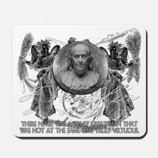 Franklin Antique virtuous man Mousepad