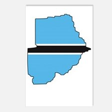 Botswana1Bk Postcards (Package of 8)