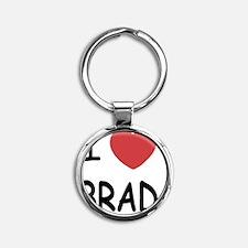 BRAD Round Keychain