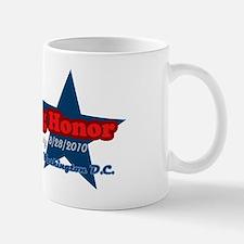 2-Restoring Honor Retro Star dark Mug