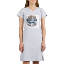 2-Restoring Honor 3 button Women's Nightshirt