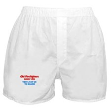 Unique Retired firefighter Boxer Shorts