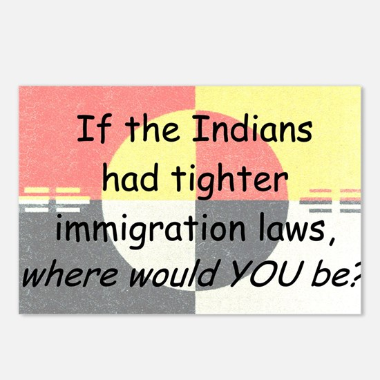 Immigration Laws Postcards (Package of 8)