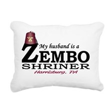 2-zembo_fez_husband_ligh Rectangular Canvas Pillow