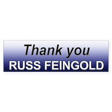 Thank you Feingold Bumper Bumper Sticker