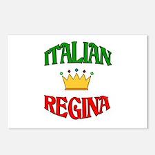 Italian Regina (Italian Queen) Postcards (Package