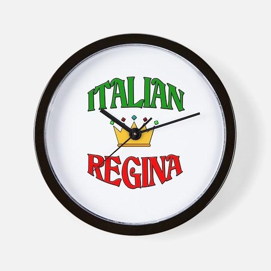 Italian Regina (Italian Queen) Wall Clock